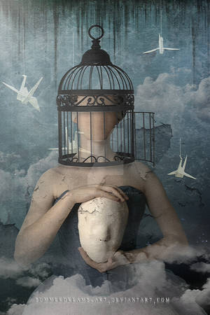 A Caged Mind by SummerDreams-Art
