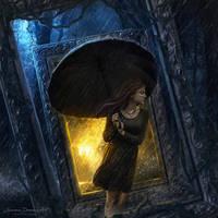Raining gray feelings