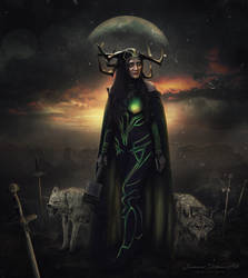 Hela by SummerDreams-Art