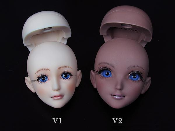 RML PHANTASY HEARTS V1 and V2 HEAD by RMLBJD