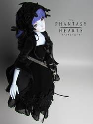 RML PHANTASY HEARTS V2A Blue skin by RMLBJD