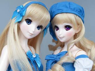 RML Animetic Alice Sisters OOAK by RMLBJD