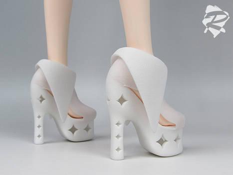 3D printed Heels RML BJD