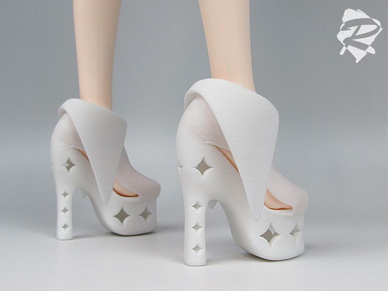 3D printed Heels RML BJD by RMLBJD
