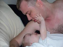 Father and Child by o0oTamaraStocko0o