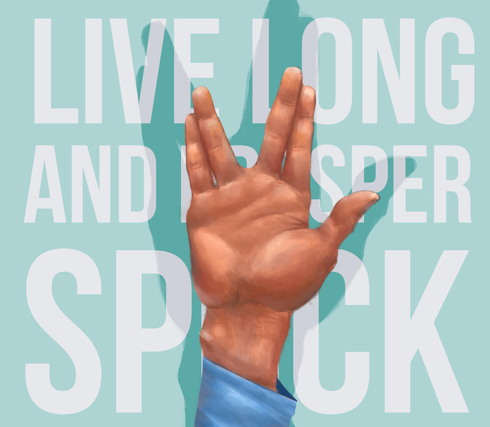 Spock - RIP by JuandaMR