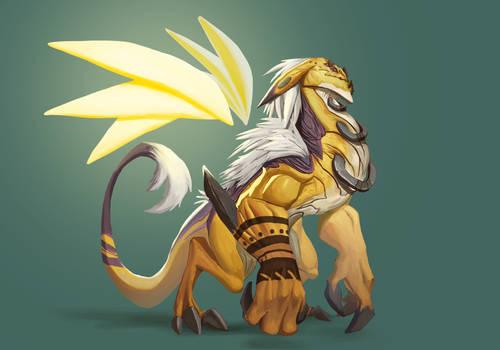 Exotic Dragon - #CharacterDesignChallenge
