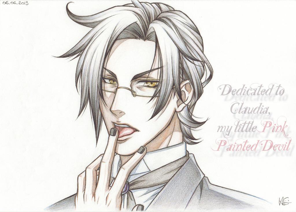 Claude Faustus ~ Lick it, Like it. by Natsuki1986