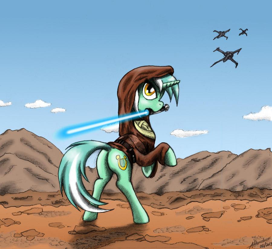 Lyra Wan Kenobi by Kh0nAn