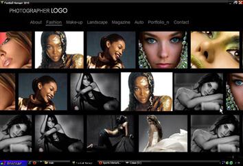 Multi-Scroller Photo website by Flash-Gallery-Net