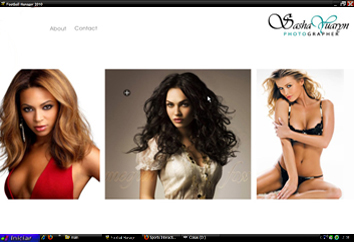 AS3 Imagefolio Flash Template by Flash-Gallery-Net