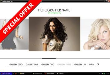 Photographer Site - XML Deep l by Flash-Gallery-Net