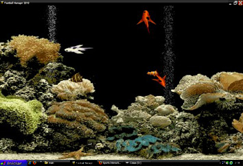 Flash interactive Fish by Flash-Gallery-Net