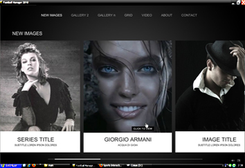 Professional Flash Photographer Website by Flash-Gallery-Net