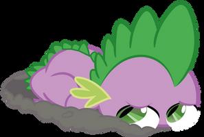Spike in the mud by JoeMasterPencil