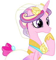 Princess Cadence - Oh! by JoeMasterPencil
