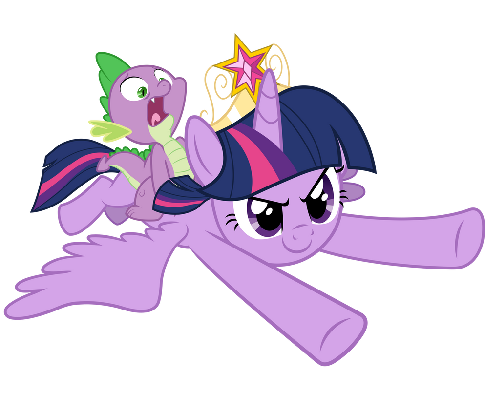 my little pony spike coloring pages