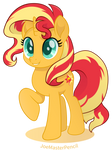 Sunset Shimmer vector moviestyle