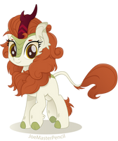 Autumn Blaze vector moviestyle by JoeMasterPencil
