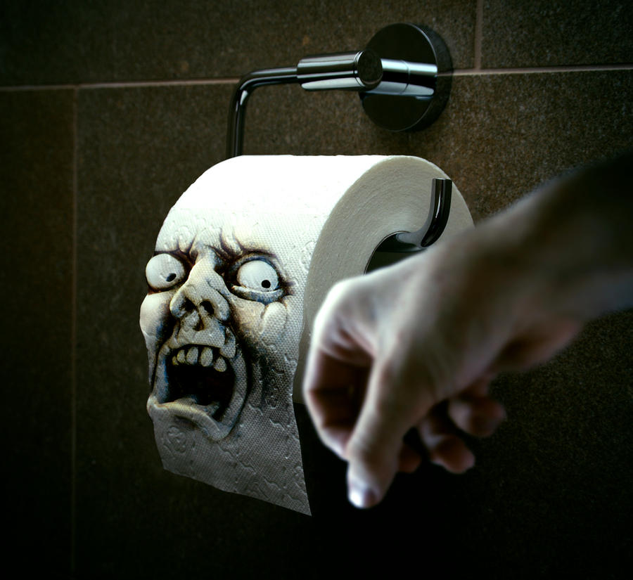 Toilet paper by Iskander1989