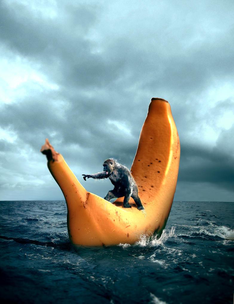 Sailing Banana by Iskander1989