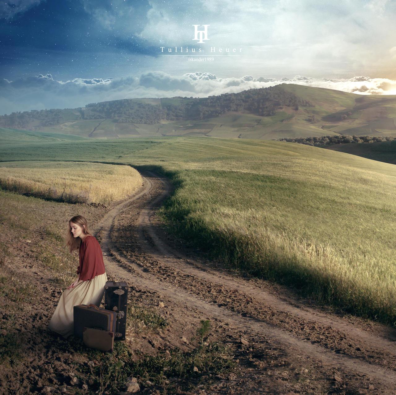 Long way home by Iskander1989