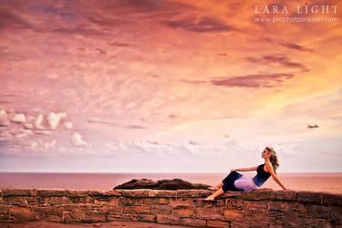 'Bondi Sunset' by xoxapril