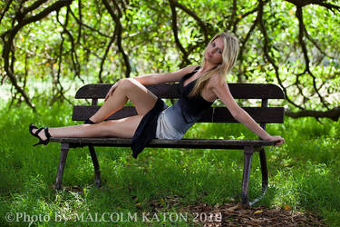 Park Bench by xoxapril