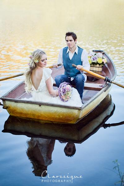 Tangled boat scene by xoxapril
