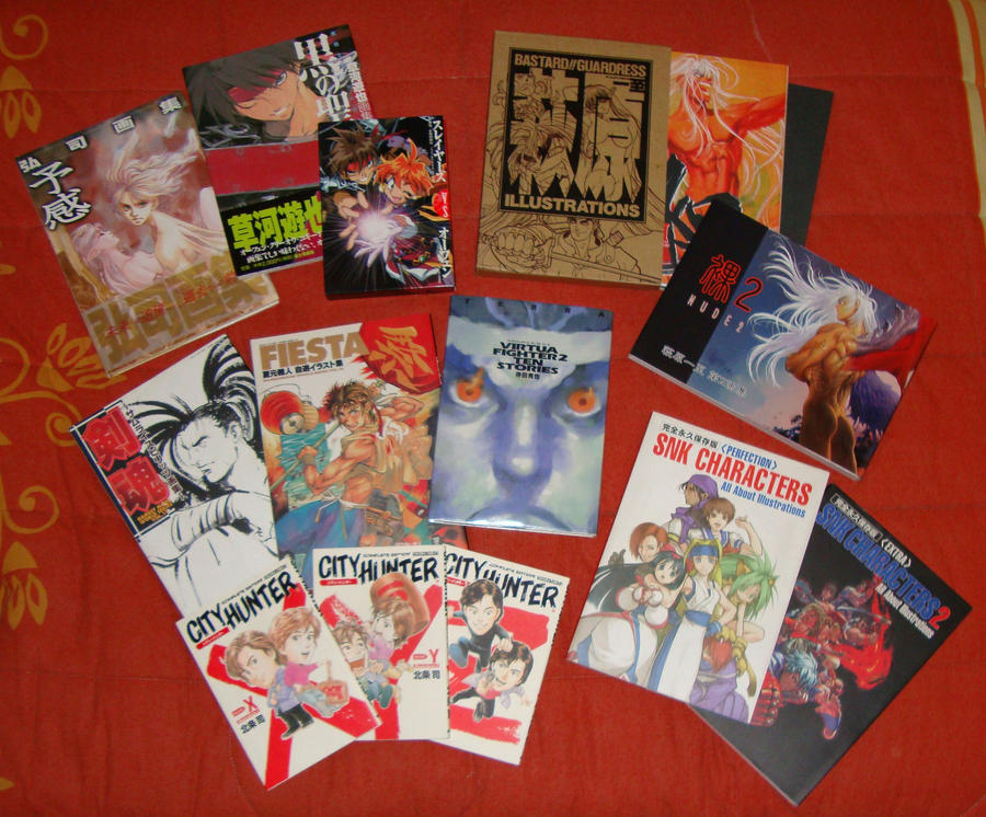 Mi coleccion de artbooks by Kenouki