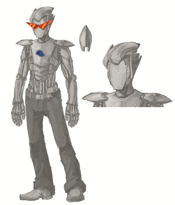 Brobot Cosplay Brobot concept by admantius