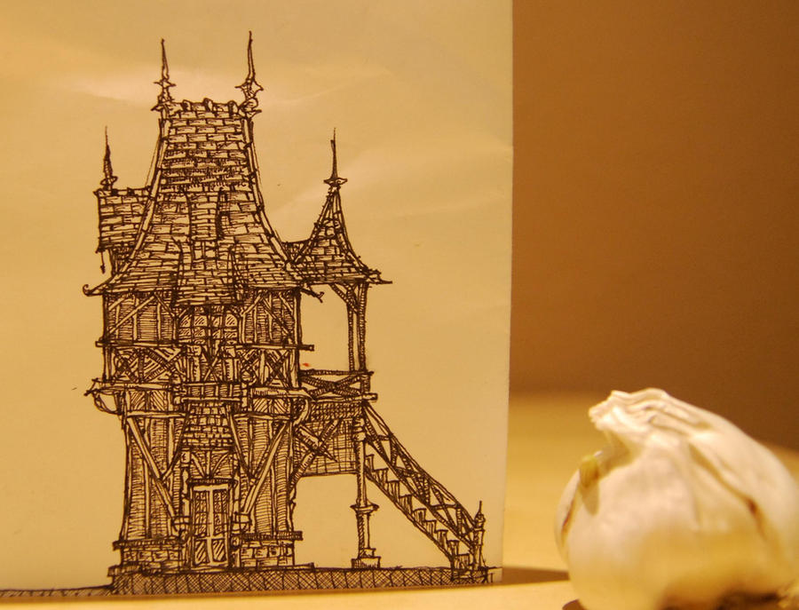 garlic house by Liddell
