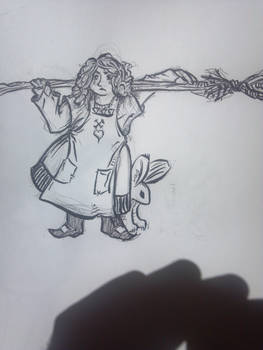 gnarly little witch