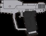 Halo 3. Magnum M6G. Left Side