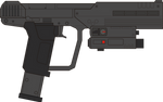 Halo 3 ODST. Magnum M6S. Right Side