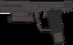 Halo 3 ODST. Magnum M6S. Left Side