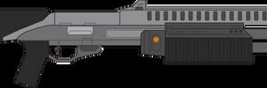 Halo 3. Shotgun M-90. Right Side