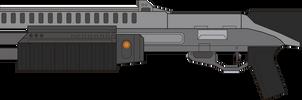 Halo 3. Shotgun M-90. Left Side