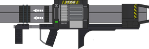 Halo 3. Rocket Launcher. Left Side