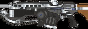 Gears of War 4. Custom Lancer. Left Side