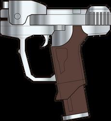 Halo: Combat Evolved. Magnum M6D. Left Side