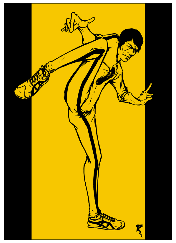 Bruce Lee by Tikay77