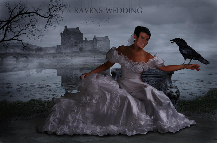 Ravens wedding by Kopfinger