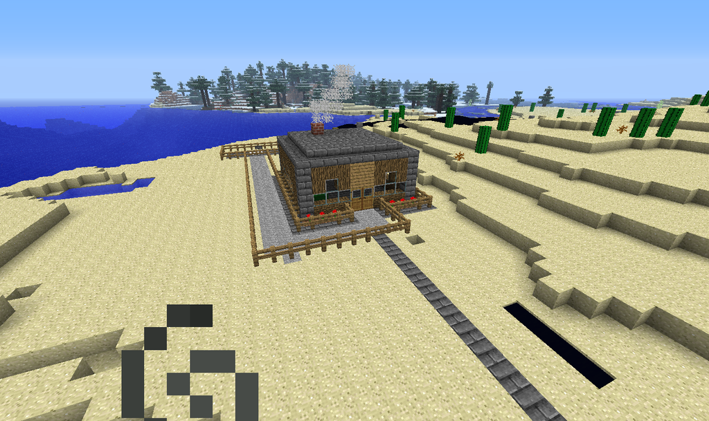 Cool house minecraft by gunnarcool on deviantart for Coolhouse com