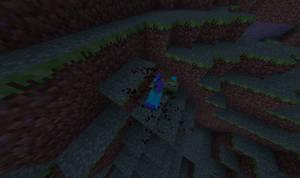 dead zombie - minecraft