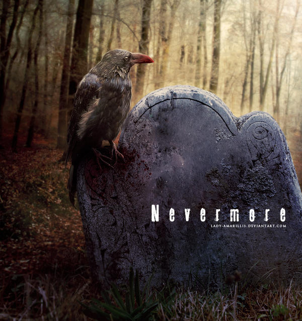 Nevermore by lady-amarillis