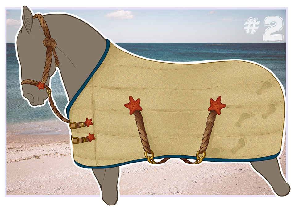 Tack blanket by Winzer