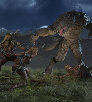 Carnodon Fight