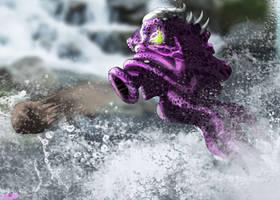 Study - River Octorok by UndyingNephalim