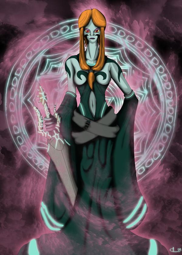 Study - Queen Midna -True Form by UndyingNephalim on DeviantArt